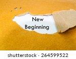 new beginning concept | Shutterstock . vector #264599522