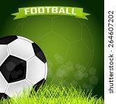vector background for football... | Shutterstock .eps vector #264607202
