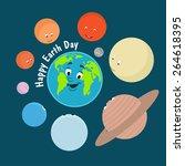 vector illustration. earth day. ...   Shutterstock .eps vector #264618395
