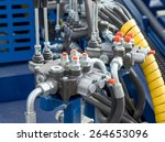 hydraulic tubes  fittings and... | Shutterstock . vector #264653096