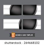 metal steel technology concept... | Shutterstock .eps vector #264668102