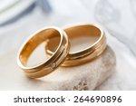 wedding rings   Shutterstock . vector #264690896
