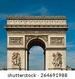 arc de triomphe   paris  ...   Shutterstock . vector #264691988