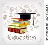 vector education illustration  | Shutterstock .eps vector #264693656