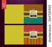 happy birthday card | Shutterstock .eps vector #264700505