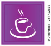 vector icon of cup of coffee....