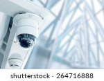 Security  Cctv Camera In The...