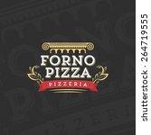 italian pizza logo | Shutterstock .eps vector #264719555