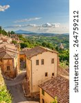 landscape of the tuscany seen... | Shutterstock . vector #264759212
