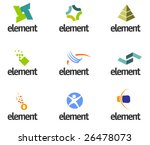 design elements set. part 3 | Shutterstock .eps vector #26478073