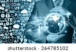 internet concept | Shutterstock . vector #264785102