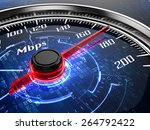 high speed internet connection... | Shutterstock . vector #264792422