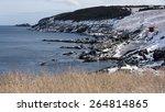 rocks and cliffs making a... | Shutterstock . vector #264814865