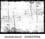 grunge frame | Shutterstock . vector #264824966