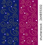 vector seamless pattern  curl ...