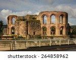 Ruins Of Roman Baths In Trier ...
