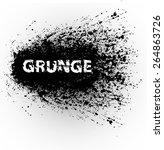 grunge urban background.texture ... | Shutterstock .eps vector #264863726
