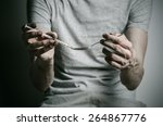 the fight against drugs and... | Shutterstock . vector #264867776