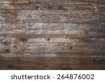 Planks Of Rustic Wood With Dar...