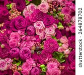 Stock photo abstract background of flowers close up 264878702