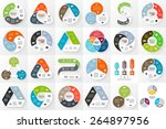 vector circle arrows... | Shutterstock .eps vector #264897956