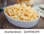 macaroni and cheese | Shutterstock . vector #264938195