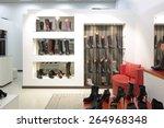 bright and fashionable interior ... | Shutterstock . vector #264968348