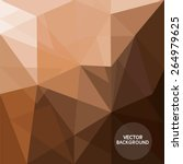 abstract coffee brown... | Shutterstock .eps vector #264979625