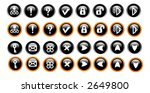 miscellaneous web icons | Shutterstock .eps vector #2649800