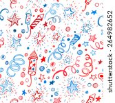 4th of july. american... | Shutterstock .eps vector #264982652