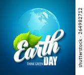 earth day. vector illustration...   Shutterstock .eps vector #264982712