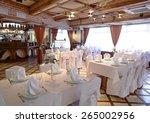 beautiful brand new european... | Shutterstock . vector #265002956