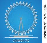 march 30  2015 london eye  ...   Shutterstock .eps vector #265010306