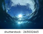 Water Surface And Sunlight In...