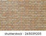brown brick background | Shutterstock . vector #265039205