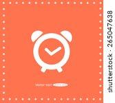 alarm clock   Shutterstock .eps vector #265047638