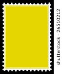 vector postage stamps - stock vector