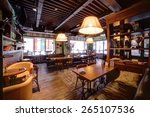 beautiful brand new european... | Shutterstock . vector #265107536