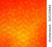 abstract red pattern orange... | Shutterstock . vector #265124666