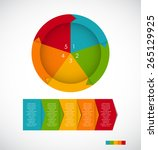 infographic templates for... | Shutterstock .eps vector #265129925