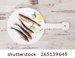 Delicious Grilled Sardines On...