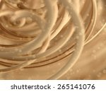 abstract gold background | Shutterstock . vector #265141076