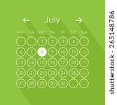 vector illustration of calendar ...