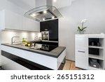 Black And White Kitchen Modern...
