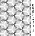 seamless geometric pattern.... | Shutterstock .eps vector #265181072