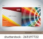square cover design   Shutterstock .eps vector #265197722