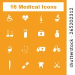 very useful medical icon set on ...