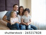 family with children at home | Shutterstock . vector #265217828