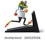 fun frog   Shutterstock . vector #265225436