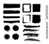 brushes | Shutterstock .eps vector #26524333